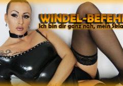 Windel-Befehl! Ich bin dir ganz nah